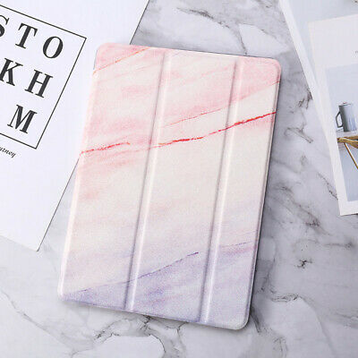 For Apple iPad Air Pro Mini 9.7 7.9 Ultra Slim Marble Smart Magnetic Case Cover