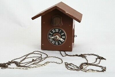 Cuckoo Clock Black Forest Hubert Herr Triberg Germany For parts or repair