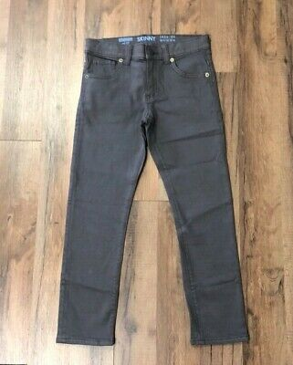 Gymboree Boys Skinny Dark Grey Jeans NWT