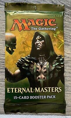 1x Eternal Masters Booster Pack - Sealed - Magic the Gathering - MTG