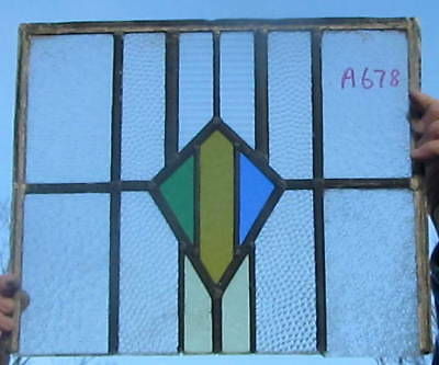A678   Ca 1930s       Stained glass