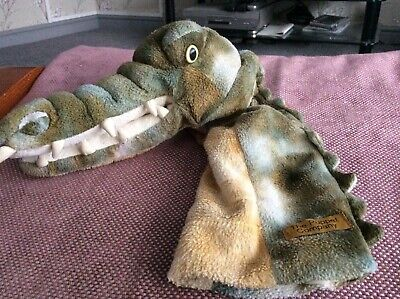 The Puppet Company Crocodile Hand Puppet long arm