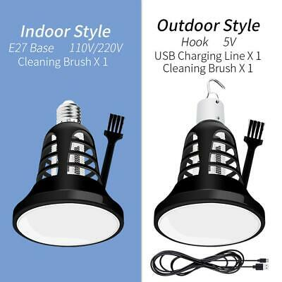 2 in 1 8W E27/USB Mosquito Killer LED Lamp Anti Insect Home Light Bulb Outdoor