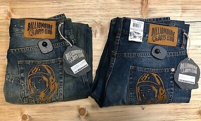 BBC Billionaire Boys Club Denim Jeans for Men New with Tags TWO  Styles and Size