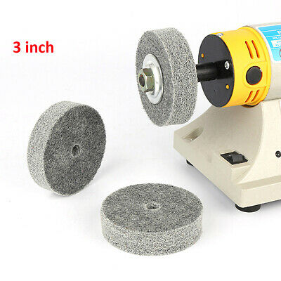 "3"" Nylon Fiber Buffing Polishing Abrasive Buffer Pad Grinding Rotary Disc Wheel"
