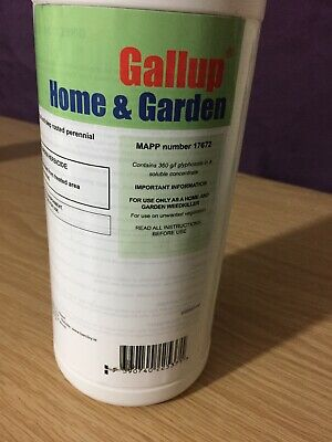 1L Gallup Home & Garden Super Strength Glyphosate Weedkiller