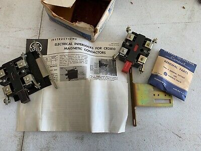 General Electric 9609203 & 8650821 Interlock Switches, NOS