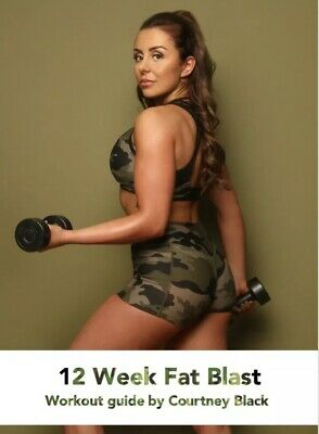 Courtney Black Fat Blast 12 Week Workout Guide Plan PDF FULL GUIDE SENT SAME DAY