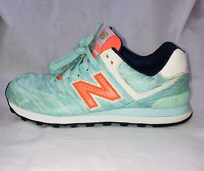84b655b5e NEW BALANCE 574 Summer Wave Running Athletic Shoe Size 8.5 and 9 ...