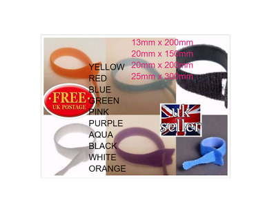 Velcro Cable Ties One Wrap Various Colours And Sizes (Cable Management )