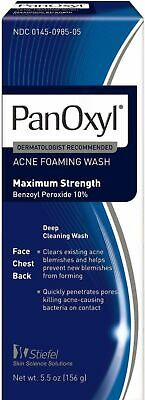 PanOxyl Foaming Acne Wash Maximum Strength 5.5 oz/ EXP DATE 5-2019 & LATER