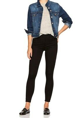 76f16b9e65 NEW Madison Womens Parsons Highrise Skinny Ankle W-Regular Jeans 14/32 Black
