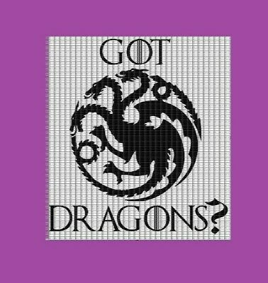 "Vinyl Die Cut Decal Bump Sticker - Game of Thrones - GOT Dragons 5""W - Daenerys"