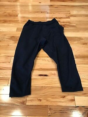 11d89158fe Nike NikeLab Essentials Stretch Fleece Pants Obsidian 917563 451 Men's SMALL