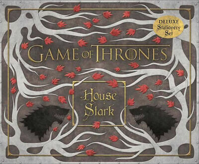 Game of Thrones: House Stark Deluxe Stationery Set NEW