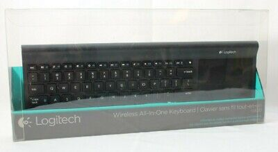 0222774b7ee Logitech Keyboard TK820 Wireless All-in-One with Large Touch Pad (NO  RECEIVER
