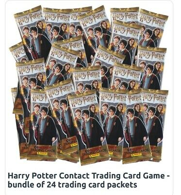 Harry potter contact trading cards box of 24 × £1.50 cards worth £36 bargain