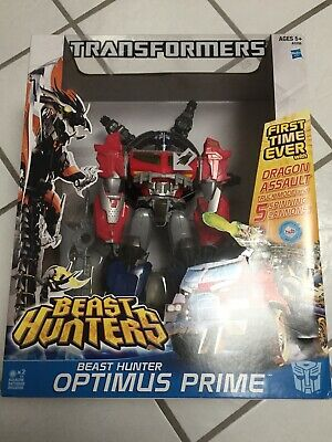Hasbro Transformers Beast Hunters DRAGON ASSAULT OPTIMUS PRIME Action Figure
