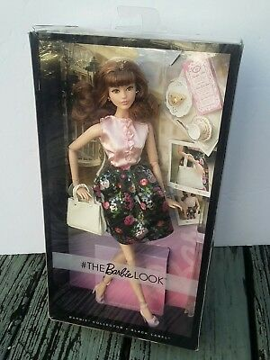 NIB Barbie The Look Sweet Tea Brunette Articulated Model Muse Doll (Flawed Box)