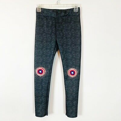 Marvel Girls Grey Leggings Size 10/12