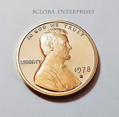 1978 S Lincoln Memorial *Proof* Cent / Penny  **Free Shipping**