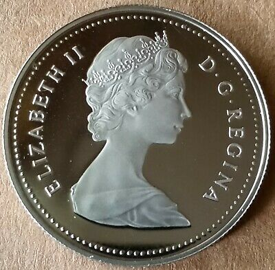 1982 Canada / Canadian Proof $1 One Dollar Coin - Exact Coin Shown