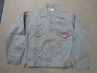 Vintage original SHELL employee's cotton jacket