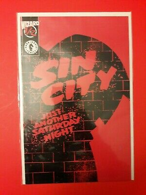 Sin City Just Another Saturday Night Comic Book