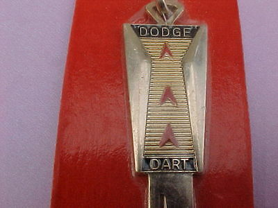 #6: NICE  Vintage DODGE DART Gold Plated Key Blank (1966 ALL YEARS)