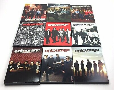 ENTOURAGE: THE COMPLETE First & Second Seasons 1 & 2 (DVD's
