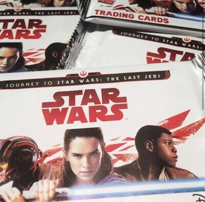 Journey to STAR WARS: The Last Jedi Trading Cards 2017 - 49 Packs