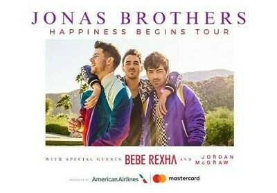 Jonas Brothers 2 Tickets August 23rd Toronto, ON Scotiabank Arena