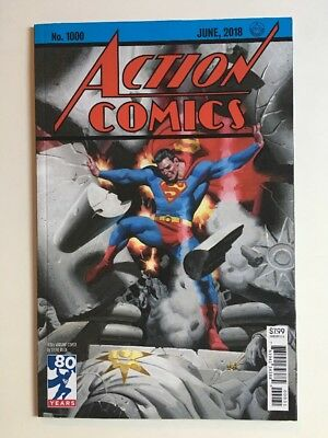 DC Action Comics #1000 1930s Steve Rude Variant Cover 80 Years Superman