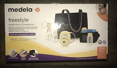 Medela Freestyle Deluxe Set Double Rechargeable Electric Breast Pump