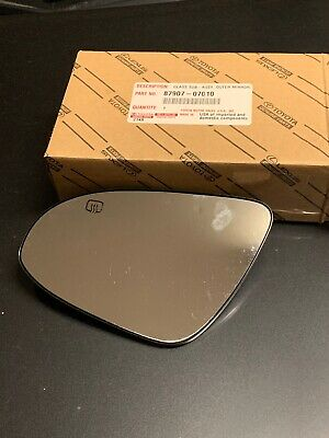 OEM TOYOTA AVALON OUTER MIRROR GLASS LH DRIVER SIDE 87907-07010