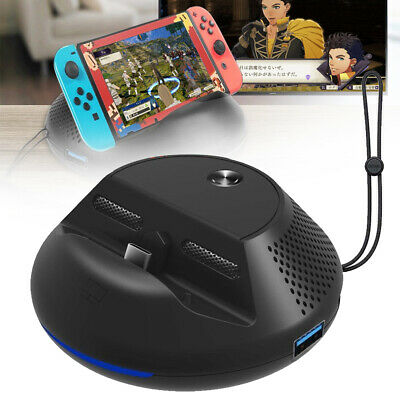 Portable TV Dock Converter HDMI Charging Base Station USB for Nintendo Switch