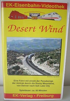 "Eisenbahn Kurier Video ""Desert Wind"""