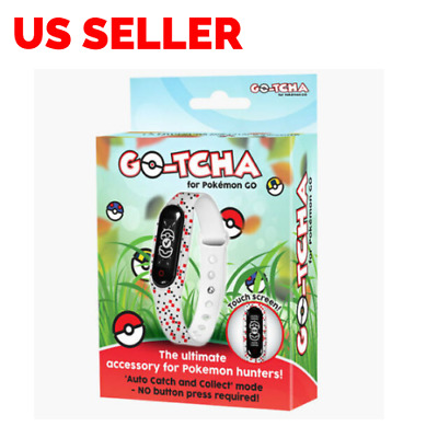 Go-Tcha LED Touch Screen Wristband for Pokemon Go Plus Accessory Gotcha Collect