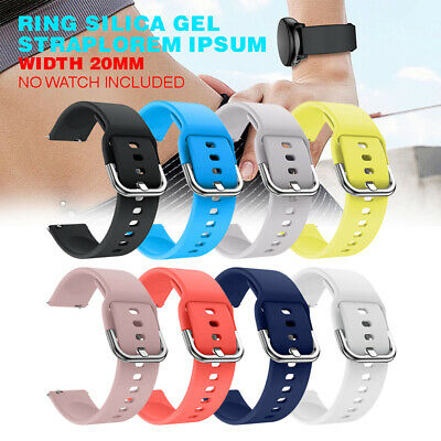 Replacement Soft Silicone Watch Band Strap for Samsung Galaxy Watch Active New
