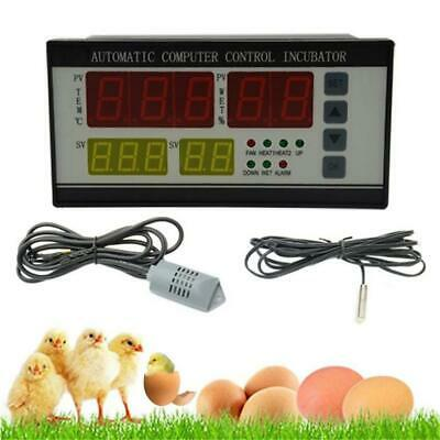 Incubator Digital Automatic Hatcher Chicken Egg Temperature Humidity Controller