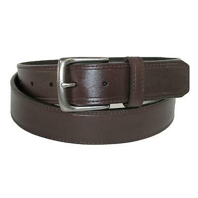 New Sharp Men's Leather 1 1/4 Inch Casual Security Money Belt