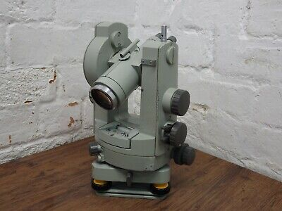 Vintage Carl Zeiss Jena  Surveyor Theodolite Site Measuring