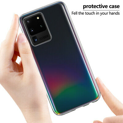 For Samsung Galaxy A50 A30 S8 S9 S10 Plus Ultra Thin Transparent Hard Case Cover