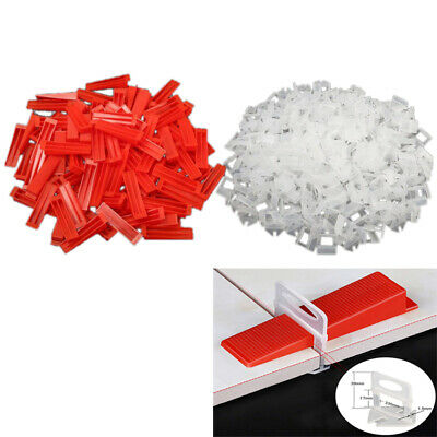 100x Tile Leveling Spacer System Light Clips Tile Leveling Wedges Lippage Level