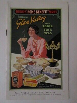Vintage Glen Valley Tea Bonus Catalogue No. 2