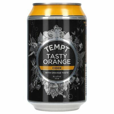 Tempt Tasty Orange Cider 24 x 0,33 ltr.