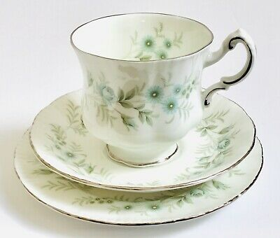 Paragon Tea cup saucer set trio china Afternoon tea plate Debutante Pattern