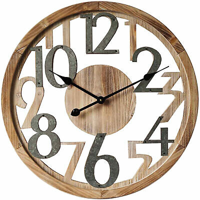 NEW 60cm Industrial Floating Wall Clock - HighST.,Clocks