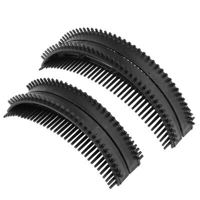 2Pcs Invisible Hair Styling Combs Bump-up Base Fluffy Puff Insert Foam Pad
