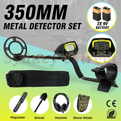 300mm Deep Sensitive Metal Detector Set Searching Gold Digger Treasure Hunter OZ